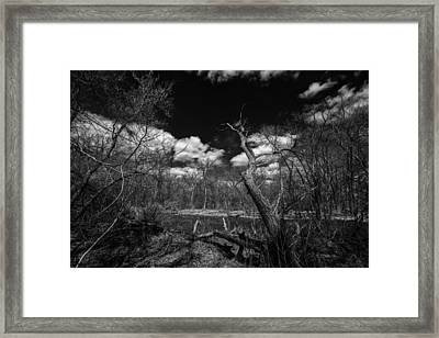 Span Out Over Framed Print