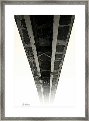 Span Framed Print by Steven Milner
