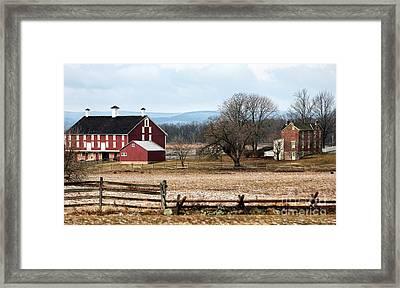 Spangler's Farm Framed Print