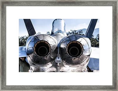 Spanish Air Force F-18 Hornet Framed Print