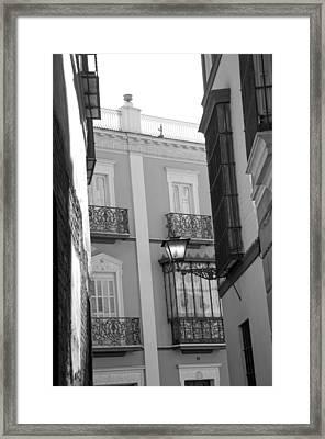 Spanish Architecture. Framed Print