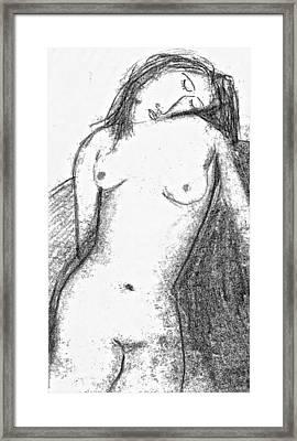 Spanish Beauty Framed Print
