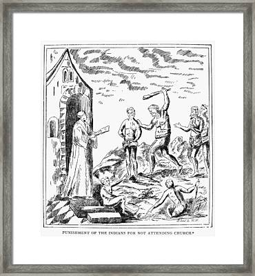 Spanish Conquest, C1600 Framed Print by Granger