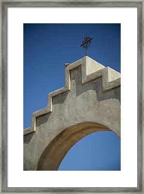 Spanish Cross Framed Print