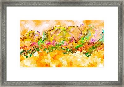 Spanish Dancer 01 Framed Print