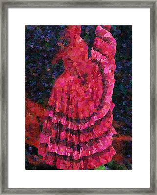 Spanish Dress  Framed Print