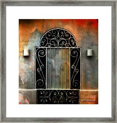 Spanish Influence Framed Print