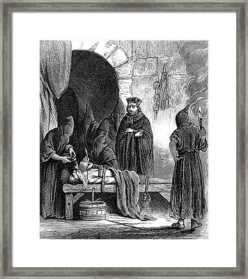 Spanish Inquisition Framed Print by Collection Abecasis
