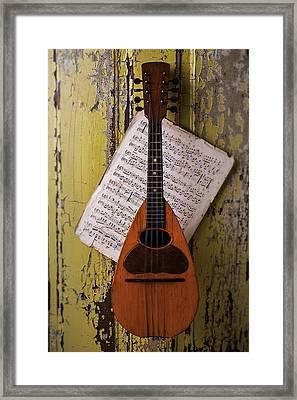 Spanish Mandolin Framed Print