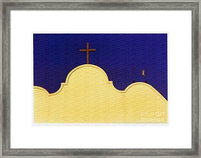 Spanish Mission Framed Print by Susan Parish