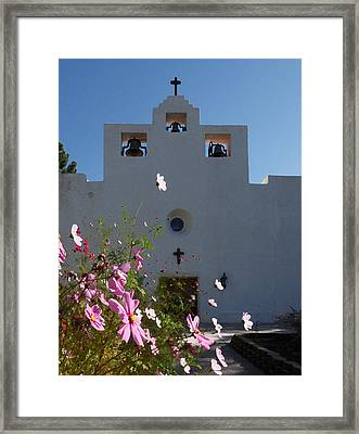 Spanish Mission Framed Print