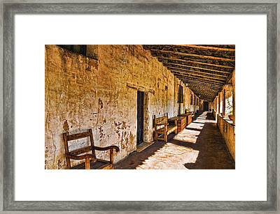 Spanish Passage Framed Print