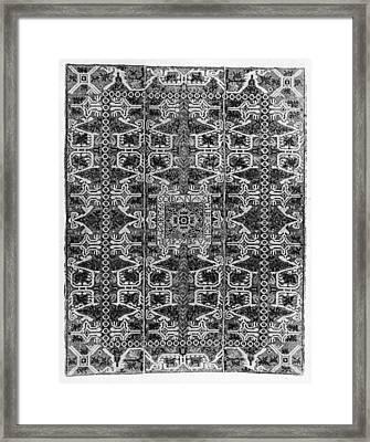 Spanish Rug, 1766 Framed Print