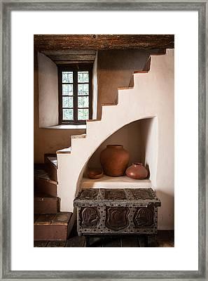 Spanish Steps Framed Print