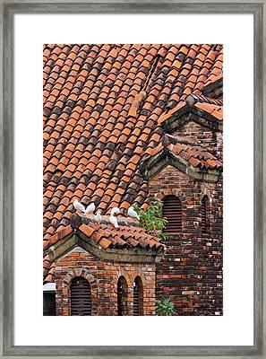 Spanish Styled Manila House, Manila Framed Print by Keren Su
