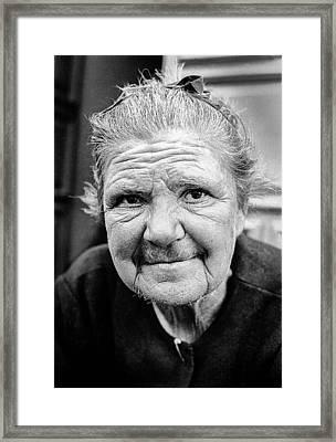 Spanish Woman Framed Print
