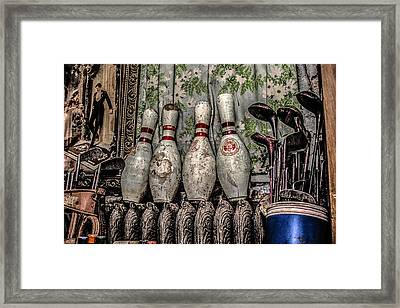 Spare Pins Framed Print