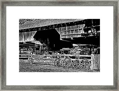 Spare Wheels Framed Print by Paul W Faust -  Impressions of Light