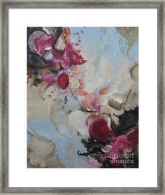 Framed Print featuring the painting Spark 20 by Elis Cooke