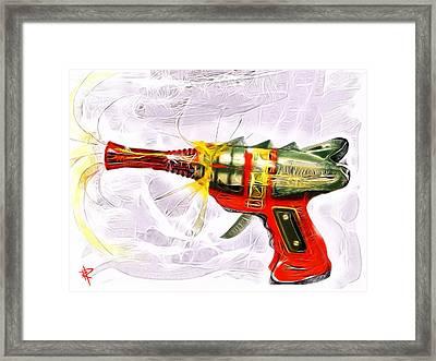 Spark Maker Framed Print by Russell Pierce
