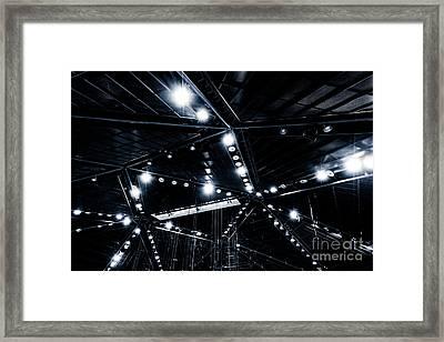 Spark Framed Print by Noir Blanc