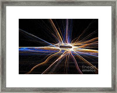 Spark Of Light Framed Print