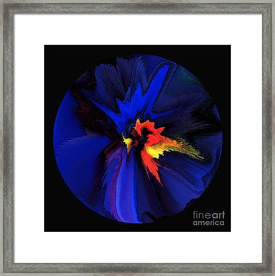Spark Of Transformation Framed Print by Patricia Kay