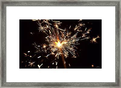 Spark Framed Print by Stephan Pabst