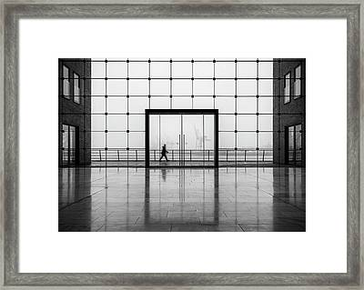 Sparkasse Framed Print