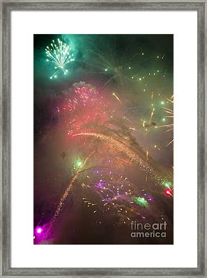 Sparked Sky Framed Print