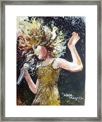 Sparkle Framed Print by Alana Meyers