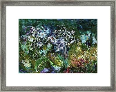 Sparkle In The Shade Framed Print