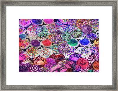 Sparkle Sweets Framed Print