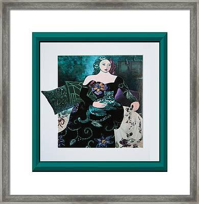 Sparkles Framed Print by Eve Riser Roberts
