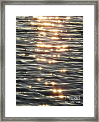 Sparkles Of Hope Framed Print