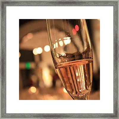 Sparkling Bubbles 1 Framed Print by Penelope Moore