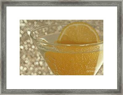 Sparkling Citrus Moments Framed Print by Inspired Nature Photography Fine Art Photography
