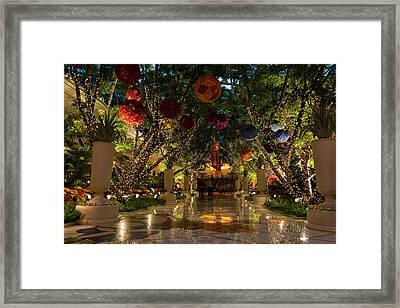 Sparkling Merry Exuberant Decorations Framed Print