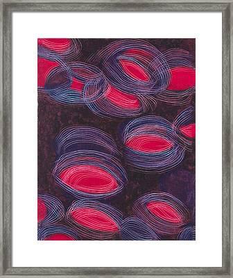 Sparkling Reflections Framed Print