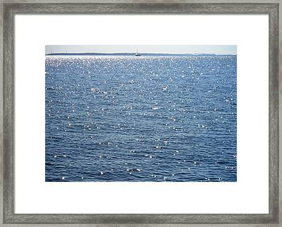 Sparkling Waters Framed Print by Kate Gallagher