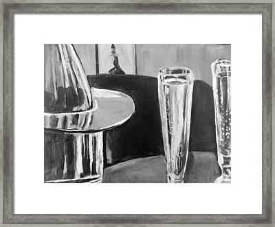 Sparkling Wine Framed Print by Shannon Lee
