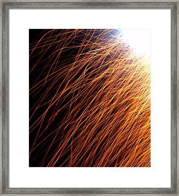 Sparks Framed Print by JS Rose Photography