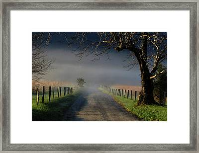 Sparks Lane Sunrise II Framed Print