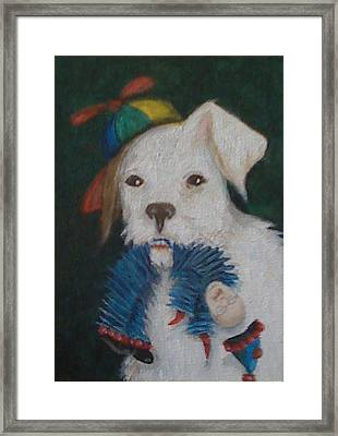 Sparky And Dick Framed Print by Georgia Griffin