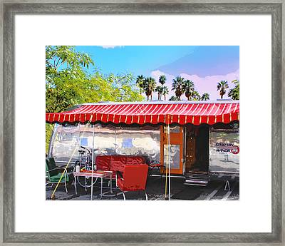 Spartan Manor Palm Springs Framed Print by William Dey