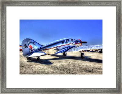 Sparten Executive At Hollister Airshow Framed Print
