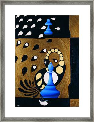 Spassky-fischer Framed Print by Nicolas Sphicas