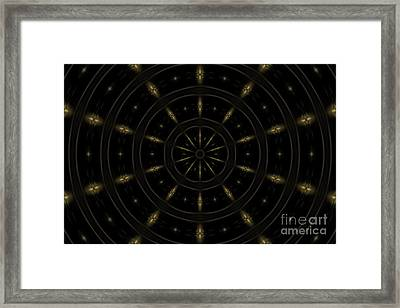 Spatial Abstract Background Pattern Framed Print by Jose Elias - Sofia Pereira