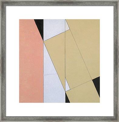 Spatial Relationship Framed Print by George Dannatt