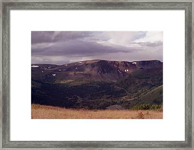 Spatzizzi Plateau Framed Print